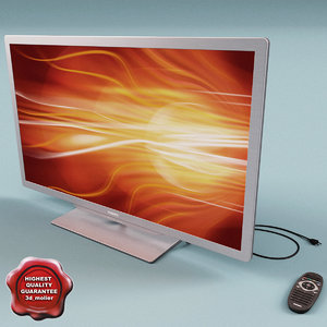 3ds max philips smart led tv