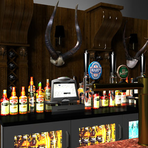 whiskey wine bar 3ds