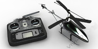 RC helicoptter&Control Panel