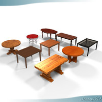 tables 3d 3ds