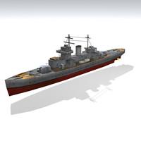 3ds ship war warship