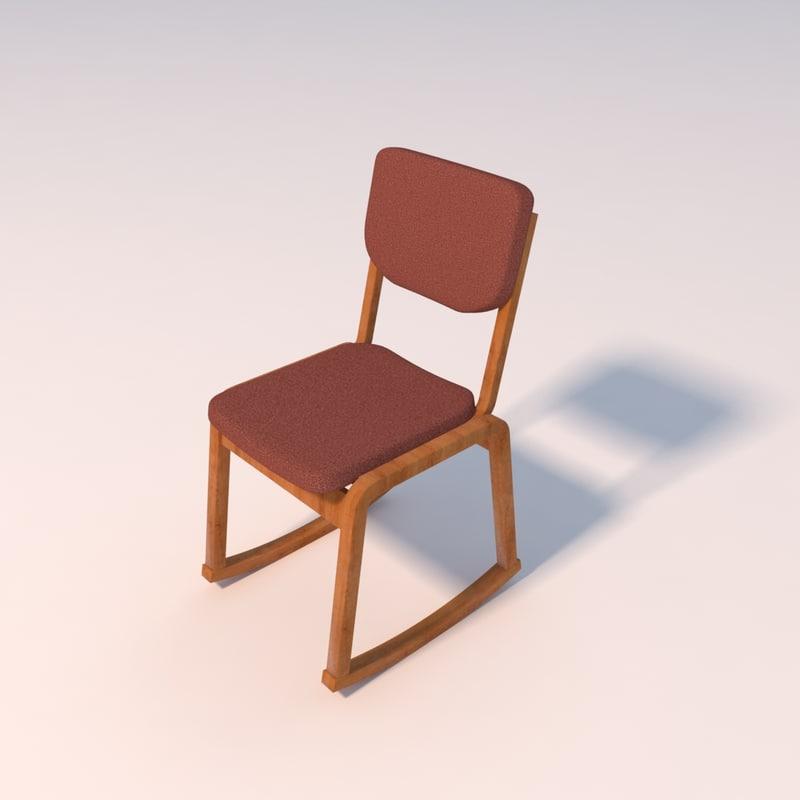 office chair 3d 3ds
