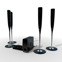 LG Champagne 5.1 Audio System
