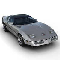 3ds max chevrolet corvette c4