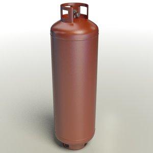 max pressurized gas tank