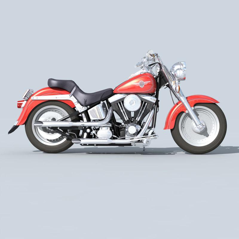 lwo fatboy motorcycle bike