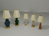table lamps 3ds