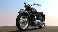"Triumph 6T Thunderbird 1955""th Cycle"