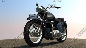 3dsmax triumph 6t thunderbird 1955