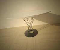 3d noguchi table model