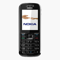nokia 6233 phone 3d model