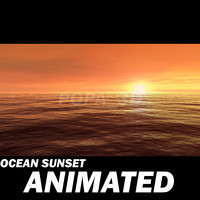 3d model ocean sky environments