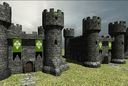Castle keep with interior low poly [Game Ready]