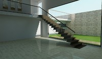 Interior Stairs, Showroom