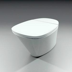 3ds max toilet