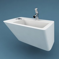3d max bathroom sink