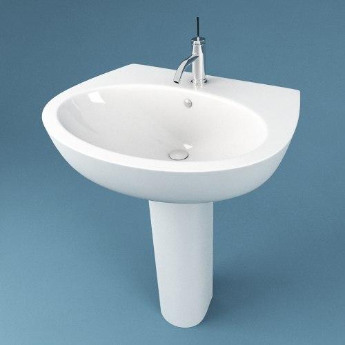 bathroom sink 3d max