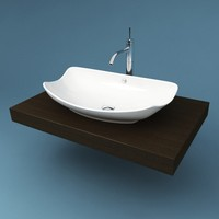 3d bathroom sink