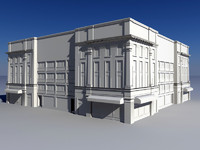3d model building classical style