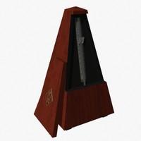 3d model metronome