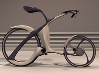 Futuristic bicycle design