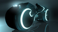 tron light cycle 3d fbx