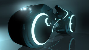tron light cycle 3d fbx
