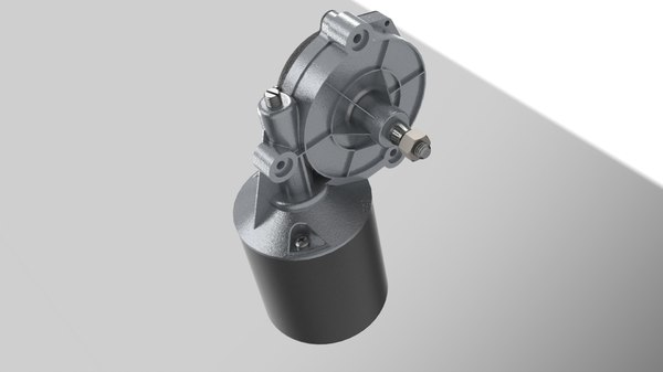 3d driver motor solid