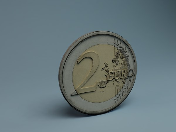 3d 3ds euro coin