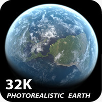 32k Photorealistic Earth