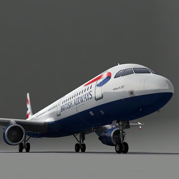 a321 plane british airways max