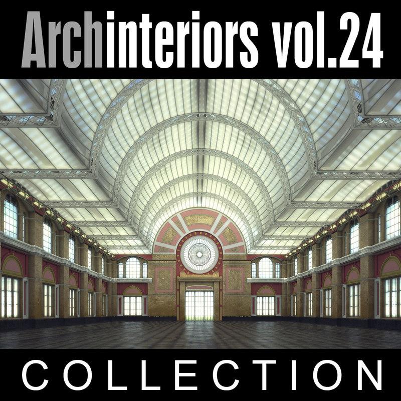 3d model archinteriors vol 24 hall