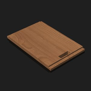 chopping board 3d obj