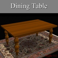lwo wood dining table