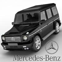 Mercedes-Benz G-class Brabus G500