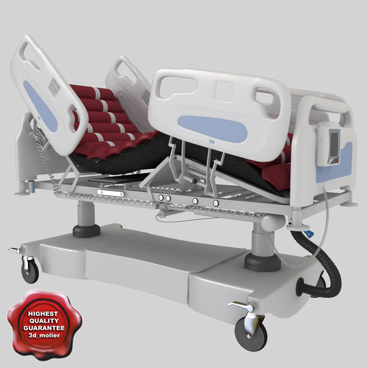 icu multi function hospital bed max