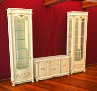Dresser and case italia