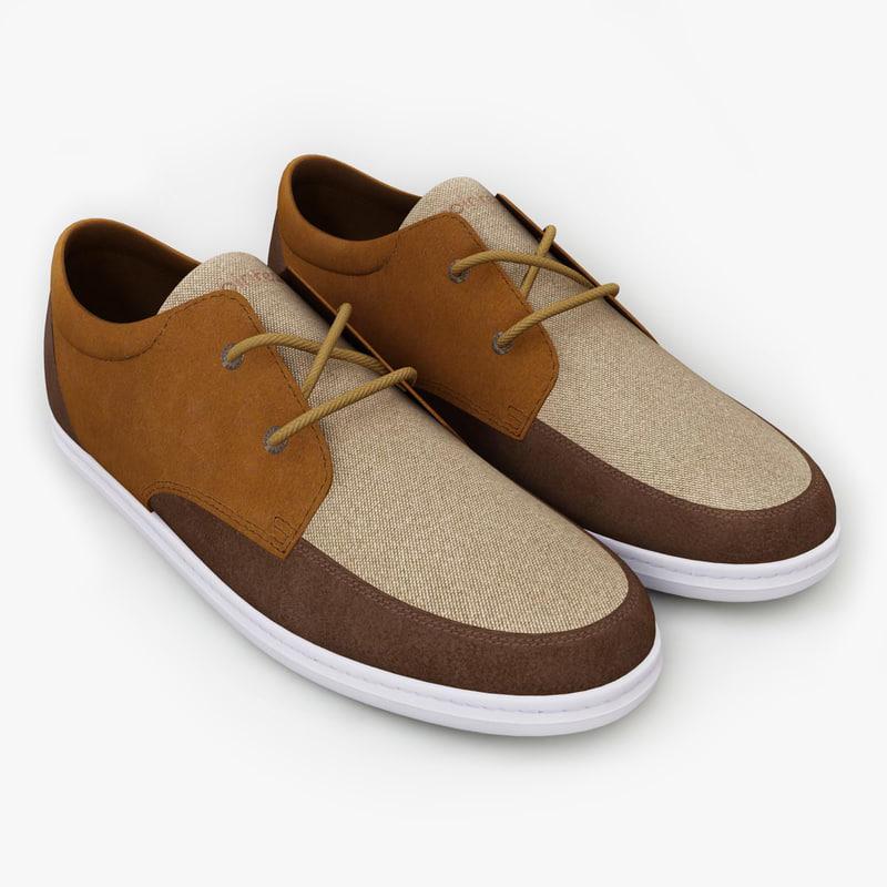 3d model men shoes pointer barajas