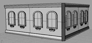 designed building obj free