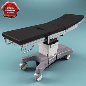 modular operating table merivaara 3d xsi