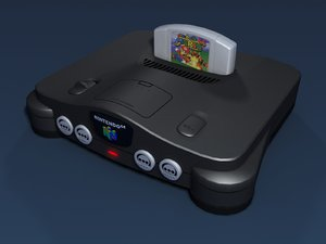 nintendo 64 video cartridge max