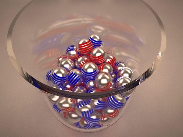 max led ball pachinko