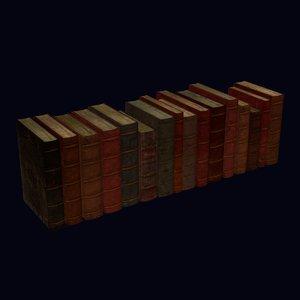 maya 16 old leather books