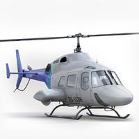 Bell 222 White
