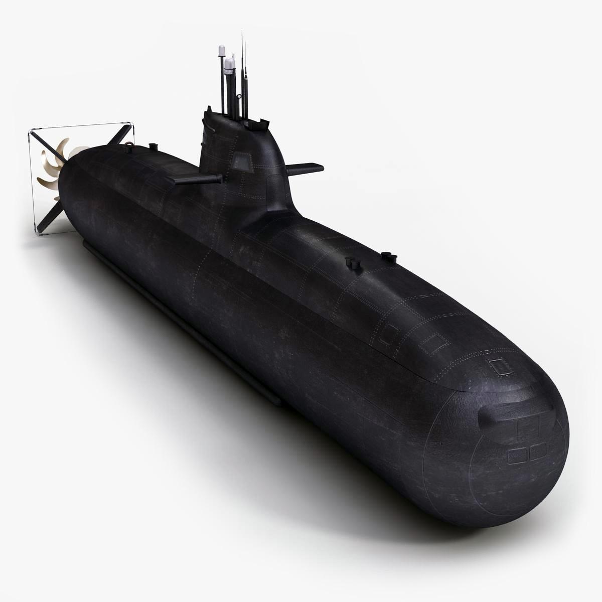 submarine salvatore todaro classe 3d model