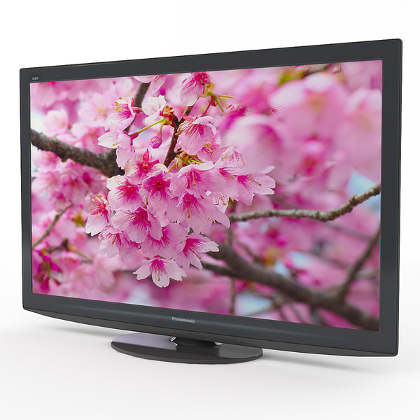 3d model tv panasonic viera tx-pr42g20