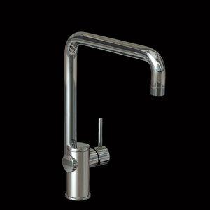 modern tap mixer 3d lwo