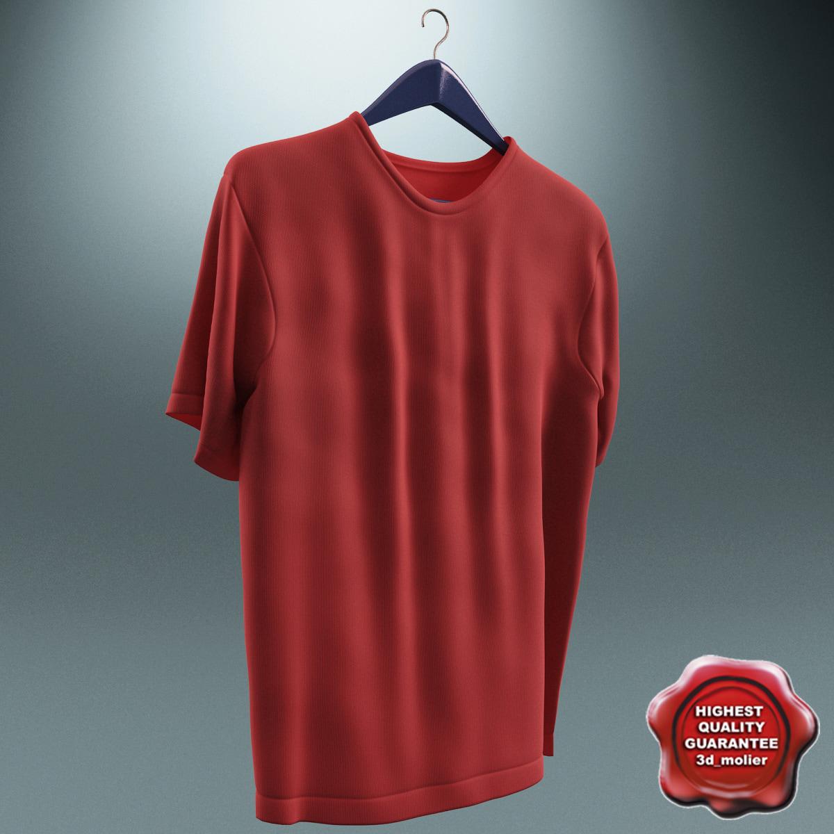 3d model tshirt hanger