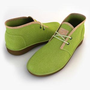 women shoes frye 3d model