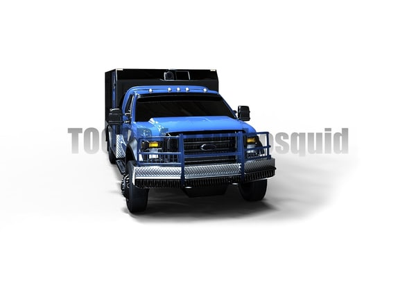 armored truck 3d model